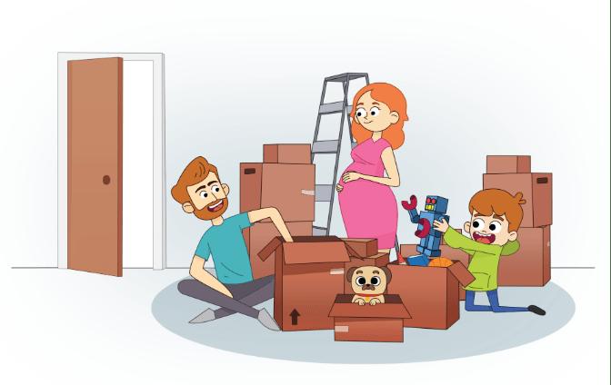 ilustracion de familia